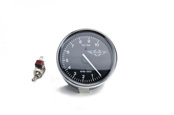 Electronic 0-10K Rev Counter - with tell tale