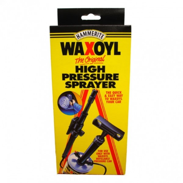 High Pressure Sprayer : Waxoyl high pressure sprayer