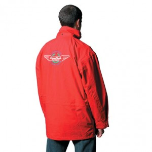 Embroidered Red Jacket - Large