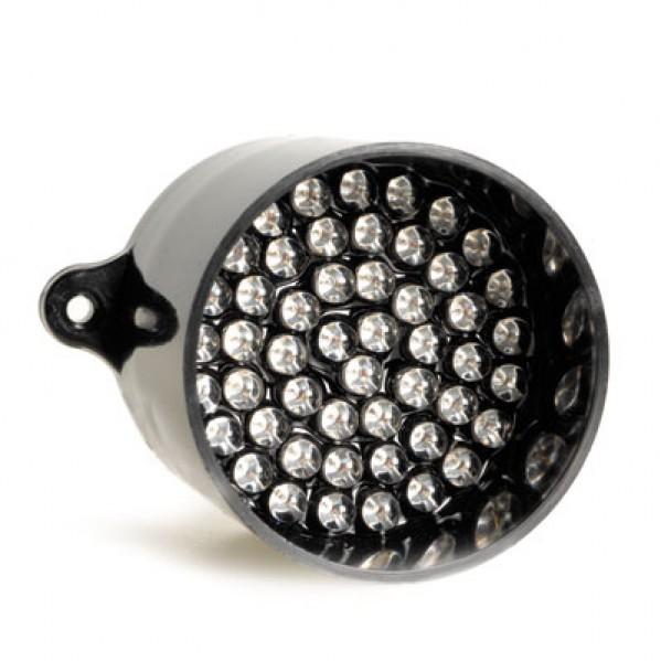 LED Red Light 52mm Diameter Rain Light