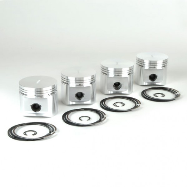 88mm Forged Pistons - Flat Top Floating Pin