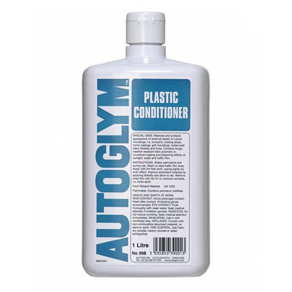 auto glym plastic conditioner 1 litre. Black Bedroom Furniture Sets. Home Design Ideas