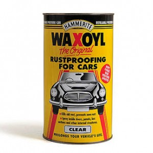 WAXOYL PRESSURE CAN – CLEAR AND BLACK - 2.5 LITRE