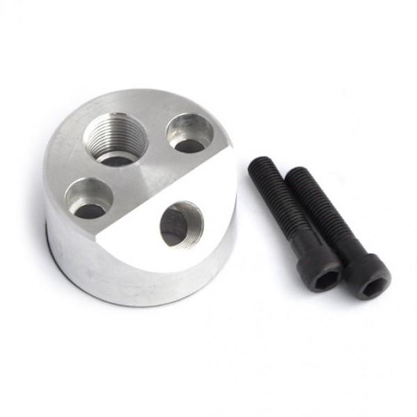 Oil Adaptor block 100/4