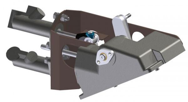 Dual Master Cylinder Mounting Kit