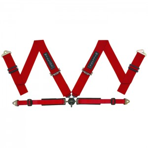 Red FIA Harness