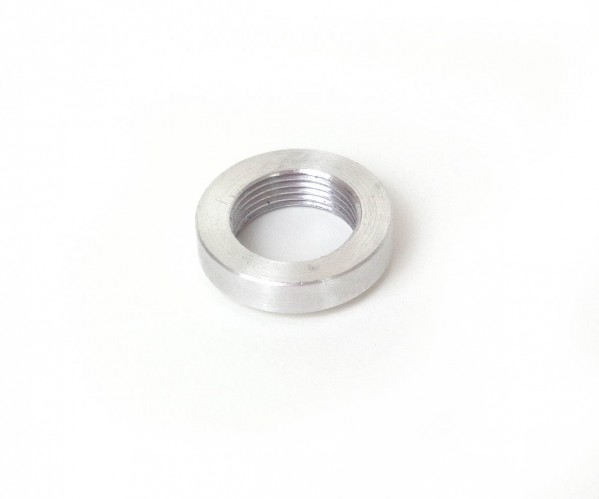 Threaded collar for temperature sensor - Aluminium