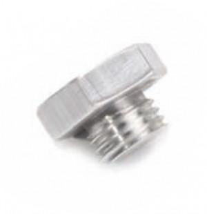 Gearbox lid blanking plug