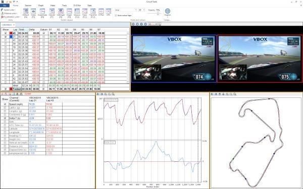 VBOX HD2 & Lap Timer inc roll cage mounts
